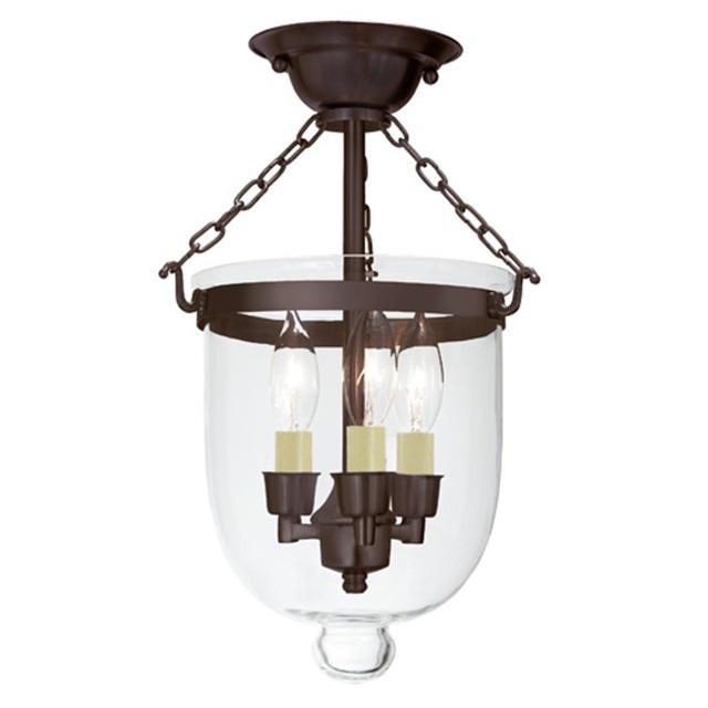 clear ceiling bell jar light smoke bell pendants hundi pendant