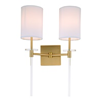Sutton Two Light Wall Sconce