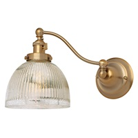 Soho one light half swing mercury Madison wall sconce
