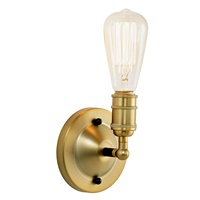 Bedford One Light Convertible Wall/Ceiling Mount