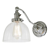 Soho one light half swing Madison wall sconce