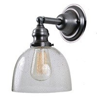 One light Union Square Clear Bubble Madison Wall Sconce