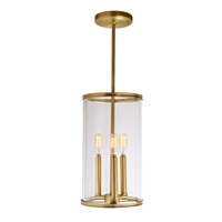 Gramercy three light pendant