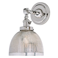 Soho one light swivel mercury Madison wall sconce