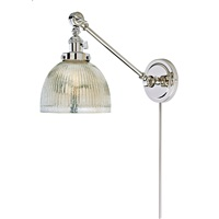 Soho one light double swivel mercury Madison wall sconce