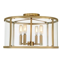 Bryant 4 Light Semi-Flush Mount