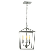 Austin three light open foyer pendant