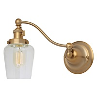 Soho one light half swing Liberty wall sconce