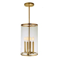 Gramercy four light pendant