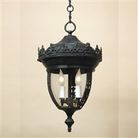 Small outdoor hanging lantern
