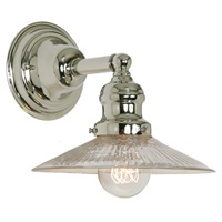 One light Union Square Mercury Ashbury Wall Sconce