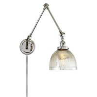 Soho One Light Triple Swing Arm Mercury Madison Wall Sconce