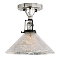 Nob Hill One Light Mercury Bailey Ceiling Mount