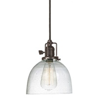 One light Union Square Clear Bubble Madison Pendant